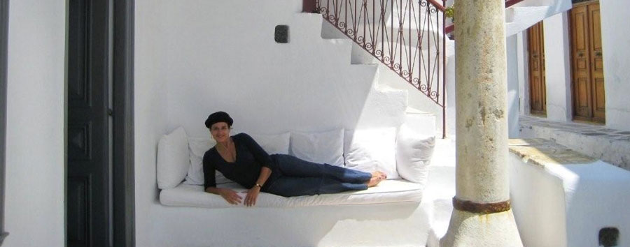 Marlene in Greece